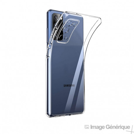 Coque Silicone pour Samsung Galaxy S20 FE - (0.5mm, Transparent)