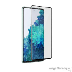 Verre Trempé Intégral Pour Samsung Galaxy S20 FE (5D, Noir)