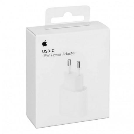 Apple MU7V2 - Adaptateur Secteur USB Type C (18W, Blanc) - Original, Blister