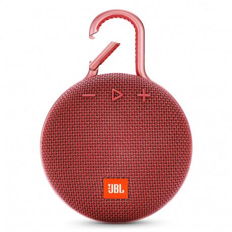 JBL Clip 3 (Enceinte Bluetooth) - Rouge