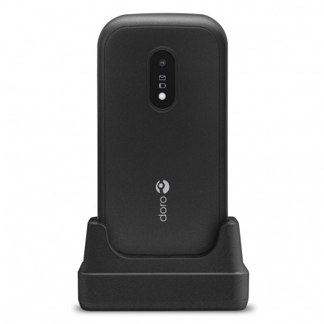 Doro 6040 (Double Sim, Clapet, 2.8'') Noir