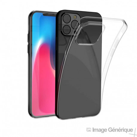 Coque Silicone Pour iPhone 12 / 12 Pro (0.5mm, Transparent)
