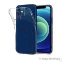 Coque Silicone Pour iPhone 12 Mini (0.5mm, Transparent) En Vrac