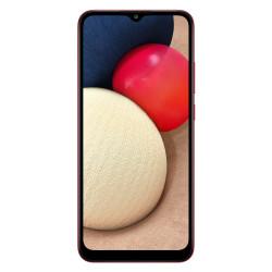 Samsung Galaxy A02s (Double Sim - 32 Go, 3 Go RAM) Rouge (Version non Européenne)