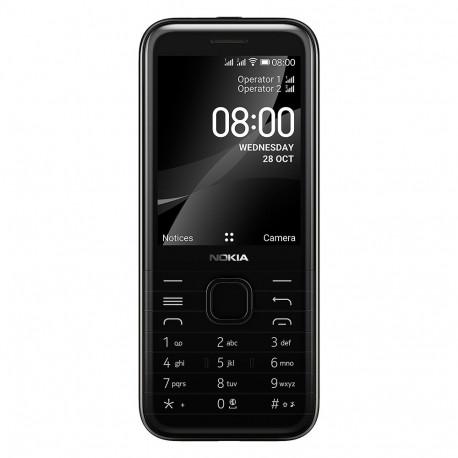 Nokia 8000 (4G - Double Sim) Noir