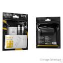 Chargeur Secteur Complet - Adaptateur USB Type-C 20W & Câble Lightning Vers USB Type-C Détachable, Blanc (Compatible, Blister)