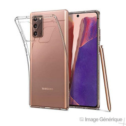 Coque Silicone Pour Samsung Galaxy Note 20 (0.5mm, Transparent) En Vrac
