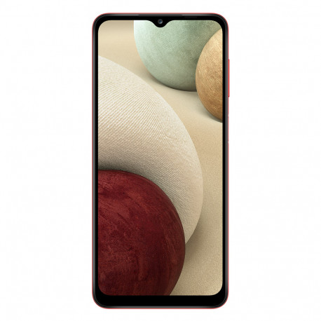 "Samsung A125F/DSN Galaxy A12  (Double Sim, 6.5"" - 64 Go, 4 Go RAM) Rouge"