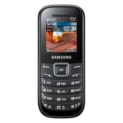 Samsung E1205 Keystone 2 Noir et Rouge
