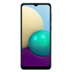 Samsung A022G/DS Galaxy A02 (6.5'' - Double Sim - 32 Go, 3 Go RAM) Bleu (Version non Européenne*)