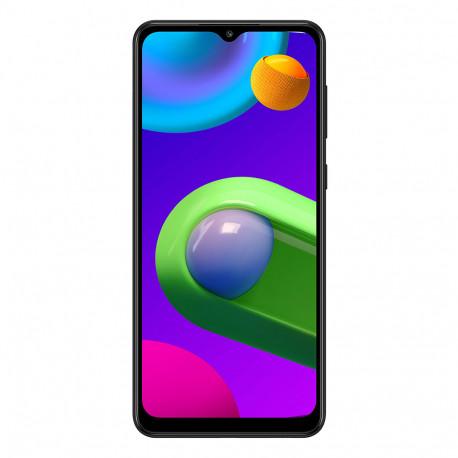 Samsung M022F/DS Galaxy M02 (6.5'' - Double Sim - 32 Go, 2 Go RAM) Noir (Version non Européenne*)