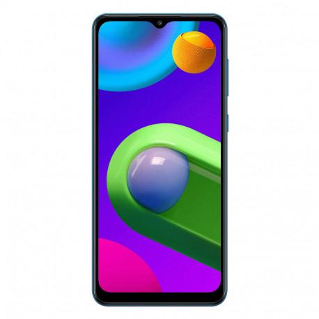Samsung M022F/DS Galaxy M02 (6.5'' - Double Sim - 32 Go, 2 Go RAM) Bleu (Version non Européenne*)