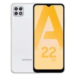 Samsung A226B/DSN Galaxy A22 5G (6.6'' - 128 Go, 4 Go RAM) Blanc