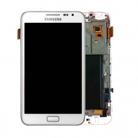 Ecran LCD Original Pour Samsung N7000 Galaxy Note Blanc
