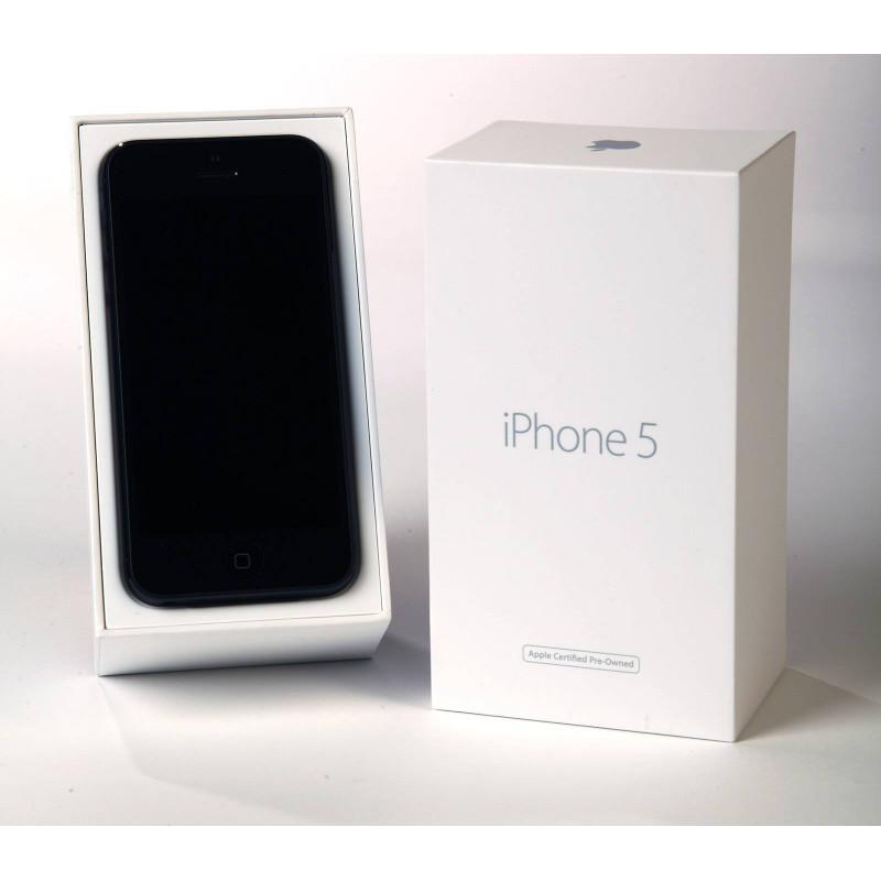 iphone 5 32go noir reconditionn par apple pre owned. Black Bedroom Furniture Sets. Home Design Ideas