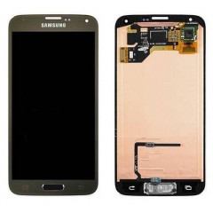 Ecran LCD Original Pour Samsung G900F Galaxy S5 Gold