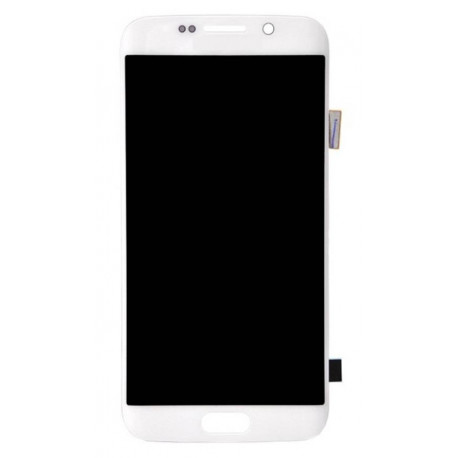 Écran LCD Original Pour Samsung G925 Galaxy S6 Edge White