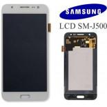 Écran LCD Complet Original Pour Samsung J500 Galaxy J5 Blanc