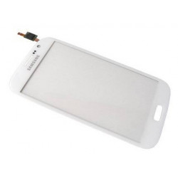 Vitre Tactile Originale Pour Samsung I9060 Galaxy Grand Plus Blanc