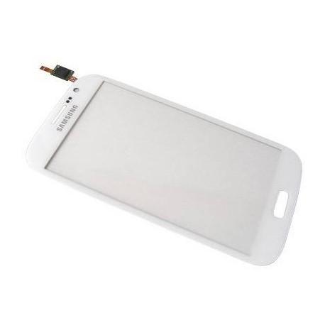 Vitre Tactile Originale Pour Samsung I9060 Galaxy Grand Plus Blanc