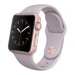 Apple Watch Sport 38mm Rose Gold Bracelet Lavande (Reconditionné)