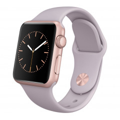 Apple Watch Sport 38mm Rose Gold Bracelet Lavande (Reconditionné)
