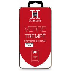 Verre Trempé Pour Iphone 6 (9H, 0.33mm)