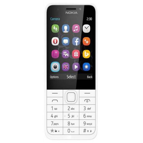 Microsoft Nokia 230 Double Sim Argent