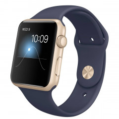 Apple Watch Sport 42mm Or Bracelet Bleu (Reconditionné)
