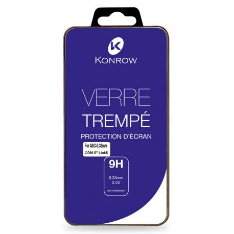 Verre Trempé Pour Konrow Link 5 (9H, 0.33mm)