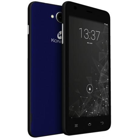 Konrow Coolfive - Smartphone Android 6.0 Marshmallow - 5'' - 8Go - Double Sim - Bleu Nuit