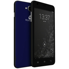 Konrow Coolfive - Smartphone Android 6.0 Marshmallow - 5'' - 8Go - Double Sim - Bleu Nuit