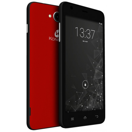 Konrow Coolfive - Smartphone Android 6.0 Marshmallow - 5'' - 8Go - Double Sim - Rouge