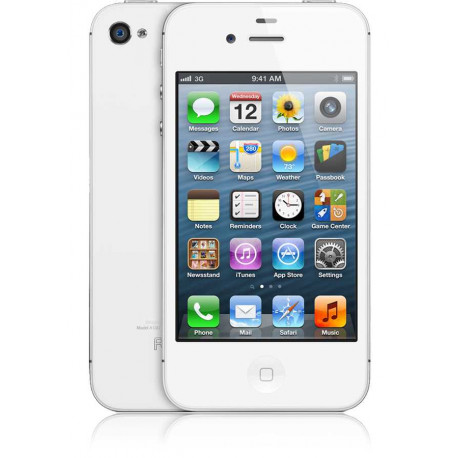 Iphone 4S 16Go Blanc (Occasion - Comme Neuf)